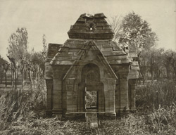 Kashmir. Temple of Meruvarddhanaswami at Pandrethan near Srinagar. View of north face. Probable date A.D. 913 to 921